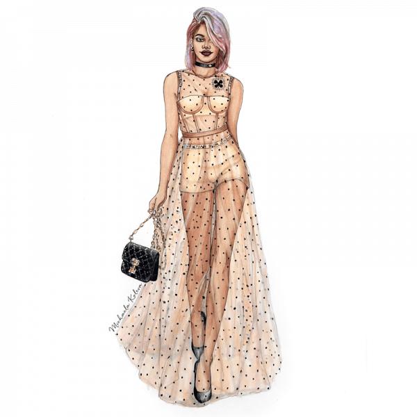 Custom Fashion Illustration Fashion Artventures
